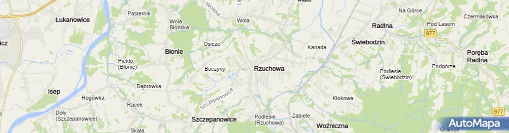 Zdjęcie satelitarne Bogusława Kumor