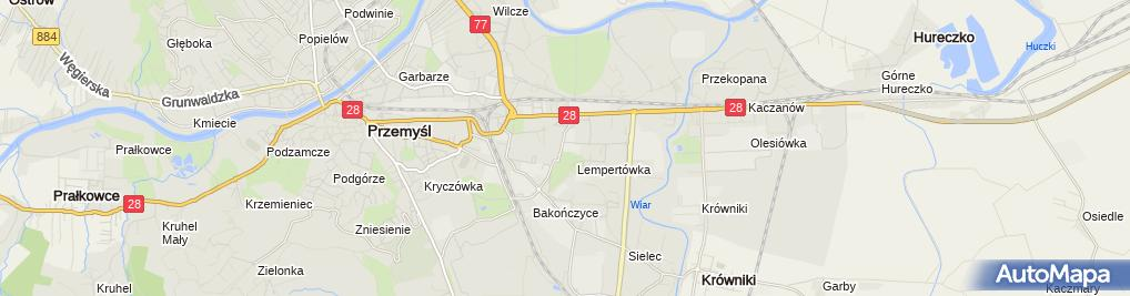 Zdjęcie satelitarne Boz 3 Centrum Budowlane - Salon Łazienek