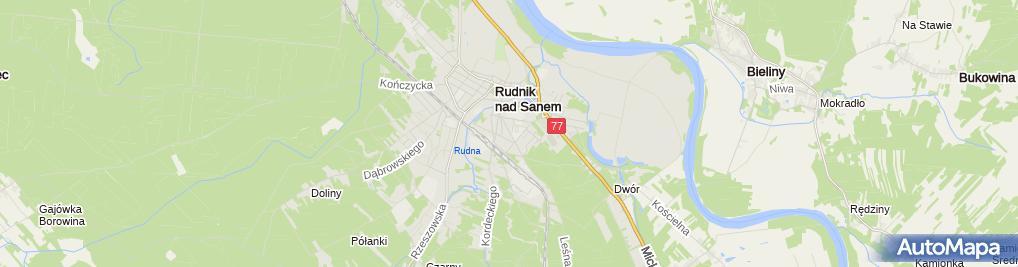 Zdjęcie satelitarne Bożena Wróblewska - Działalność Gospodarcza