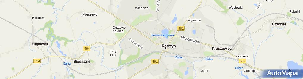 Zdjęcie satelitarne Bożena Zalesińska