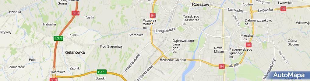 Zdjęcie satelitarne BPD Andrzej Stankiewicz