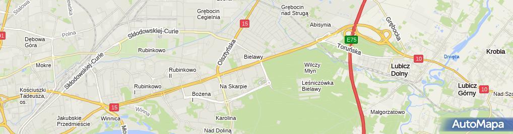 Zdjęcie satelitarne Brat Mal Brzuszczak Jerzy Brzuszczak Tomasz