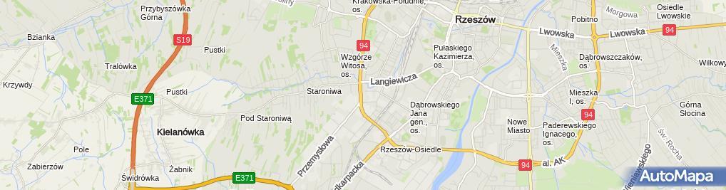Zdjęcie satelitarne Bruckner Polska