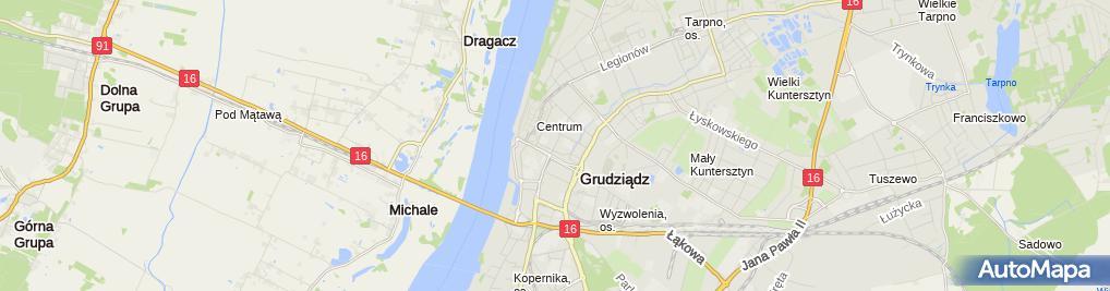 Zdjęcie satelitarne Brygida Adamowicz - Działalność Gospodarcza