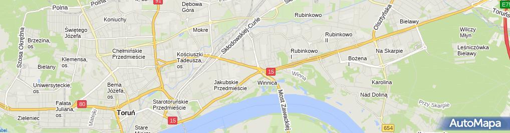 Zdjęcie satelitarne Burak Krzysztof Eldo Zakład Systemów Dozowania