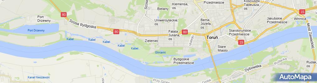 Zdjęcie satelitarne Burdzy Andrzej Pośrednictwo Finansowe i Ubezpieczenia