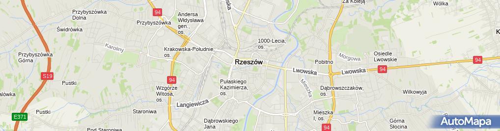 Zdjęcie satelitarne Business Centre Beata Wielgosz