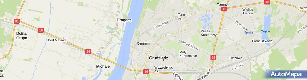 Zdjęcie satelitarne Business Partners Karina Milan - Szymańska