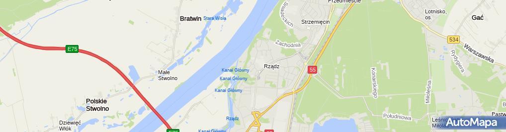 Zdjęcie satelitarne Buszkom Buszkiewicz Jolanta Buszkiewicz Wojciech