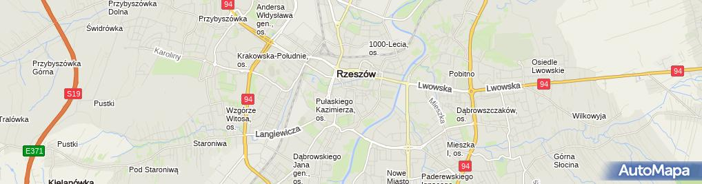 Zdjęcie satelitarne Cafe Bar Murzynek Cafe Bar Murzynek