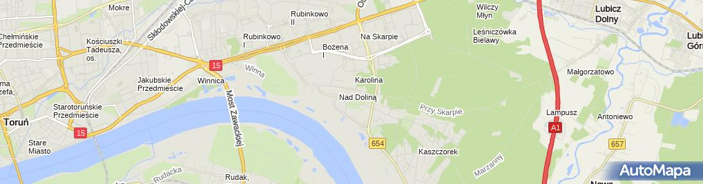 Zdjęcie satelitarne Caffe Pracownia Ewa Rutecka Leszek Rutecki