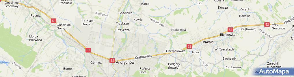 Zdjęcie satelitarne Car-Trans Rafał Bylica