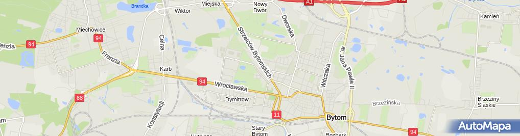 Zdjęcie satelitarne Carbo Wedox Lidia Piekło Andrzej Piekło Zygmunt Horzela