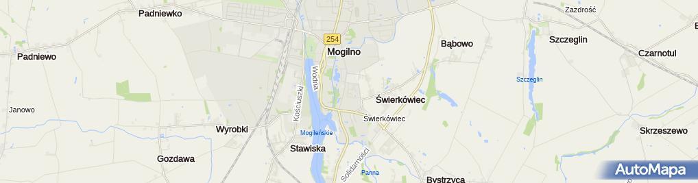 Zdjęcie satelitarne Cda Czerwiński Dariusz
