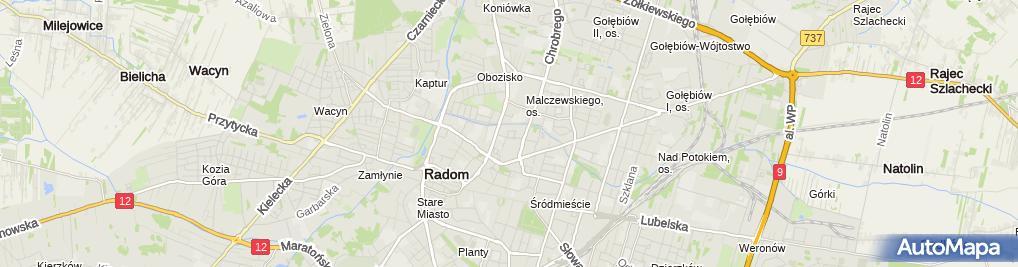 Zdjęcie satelitarne Central Force Piotr Kwiecień
