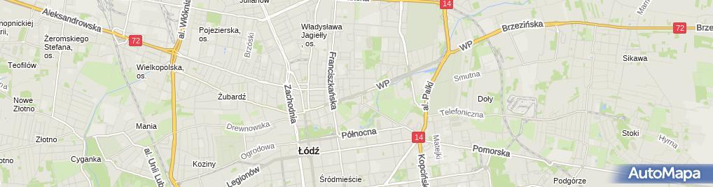 Zdjęcie satelitarne Centrum Kształcenia Detektywów i Pracowników Ochrony Dragon Paweł Pisera Jerzy Biernacki
