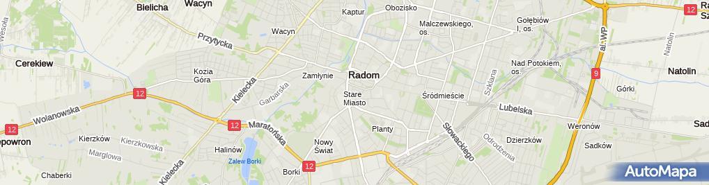 Zdjęcie satelitarne Centrum Psychologiczne