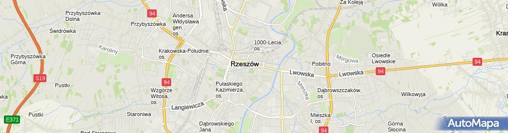 Zdjęcie satelitarne Centrum Usług Turystycznych Marek Ciszkiewicz Wiesław Piątek Sylwia Wojdyło