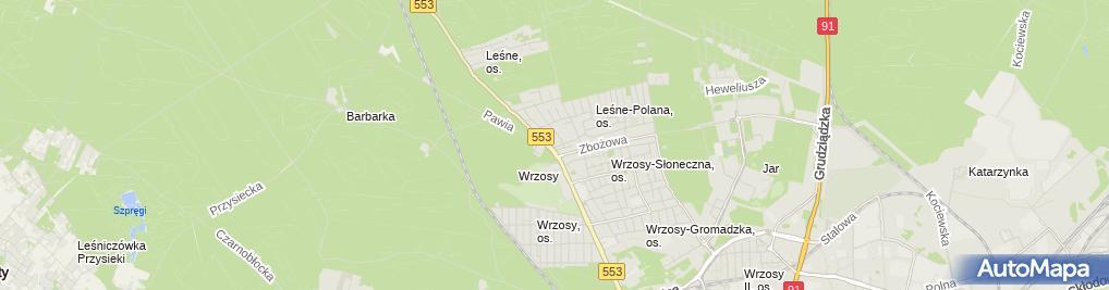 Zdjęcie satelitarne Chachaj Wiesław Chachaj