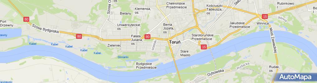 Zdjęcie satelitarne Ciborski Wiesław Arto w.Ciborski Agencja Reklamowa