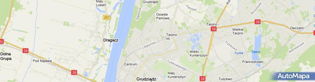 Zdjęcie satelitarne Cichońska Mariola