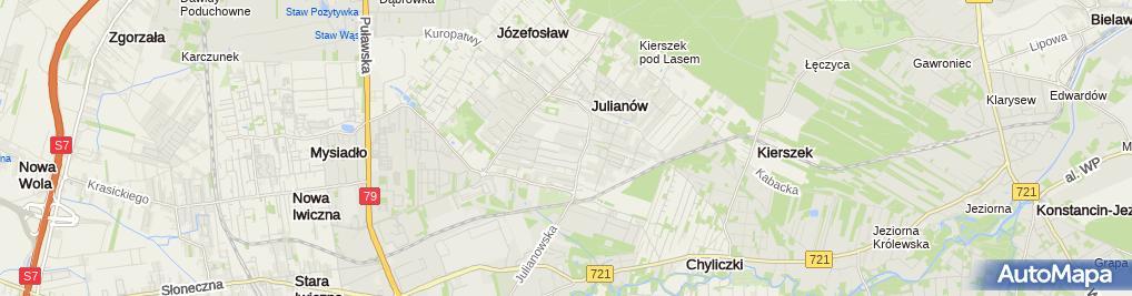 Zdjęcie satelitarne City Mall Investments Przemysław Zimowski