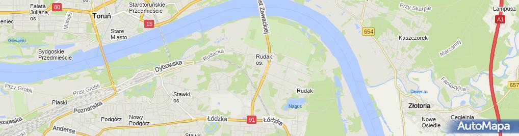 Zdjęcie satelitarne CLS Agnieszka Giemza