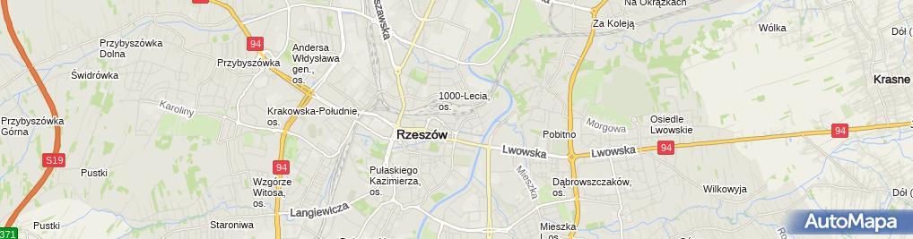 Zdjęcie satelitarne CNC Modern Wiesław Łoza