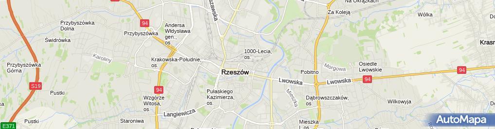 Zdjęcie satelitarne Cogito Centrum Kształcenia Katarzyna Pawłowska