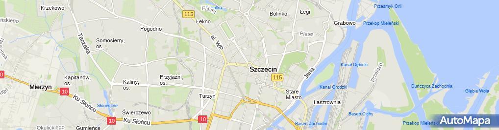 Zdjęcie satelitarne Concepsus Zakład Reklamowo Usługowy Tomasz Szybowski Przemysław Włosek