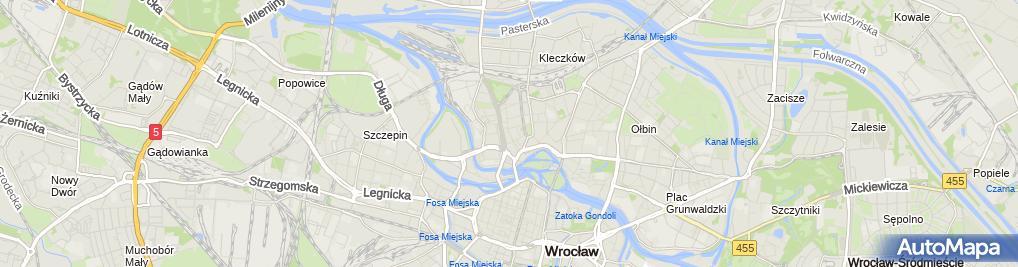Zdjęcie satelitarne Cosmedica