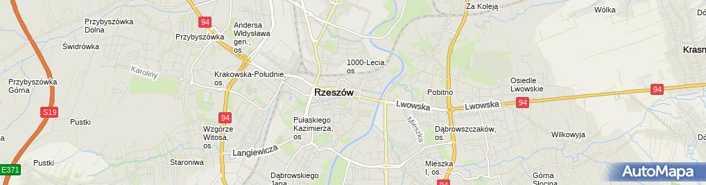 Zdjęcie satelitarne Crosswords Factory