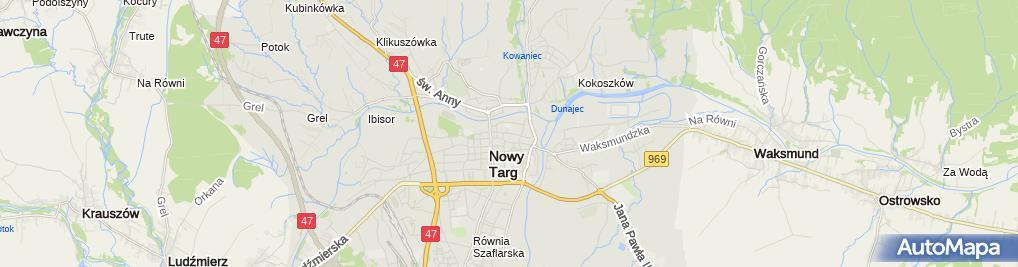 Zdjęcie satelitarne Cukiernia-Piekarnia Krzysztof Kalata