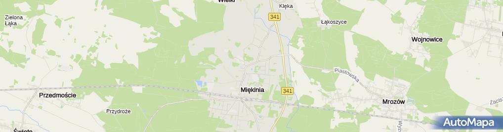 Zdjęcie satelitarne Czesław Fuławka Usługowy Zakład Stolarski