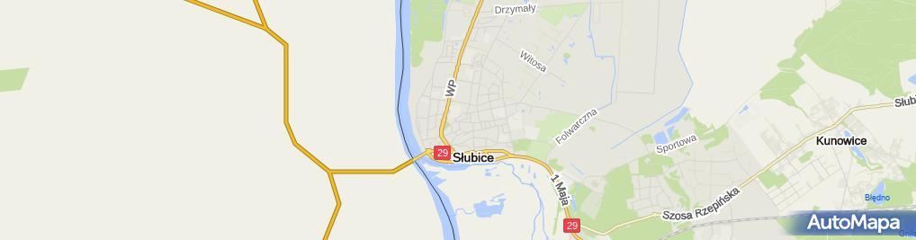 Zdjęcie satelitarne Czesław Kalinowski - Działalność Gospodarcza