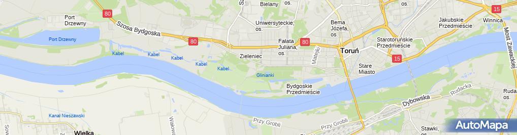 Zdjęcie satelitarne Dam Pol Szczęsna Danuta Szczęsny Mirosław