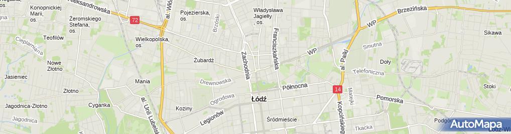Zdjęcie satelitarne Daper Jeans Marcin Brzeziński Mirosław Brzeziński