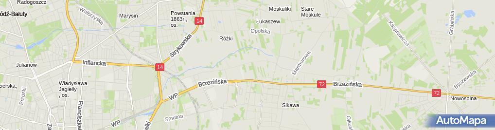 Zdjęcie satelitarne Daper Jeans Plus Marcin Brzeziński Katarzyna Brzezińska