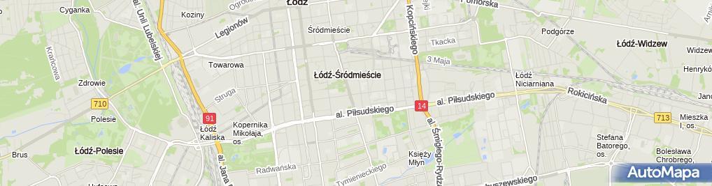 Zdjęcie satelitarne Darek