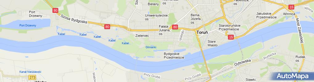 Zdjęcie satelitarne Dariusz Jonatowski - Działalność Gospodarcza