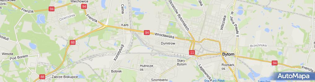 Zdjęcie satelitarne Dariusz Kukla - Działalność Gospodarcza