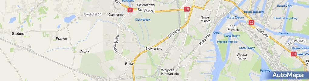 Zdjęcie satelitarne Dariusz Masłowski