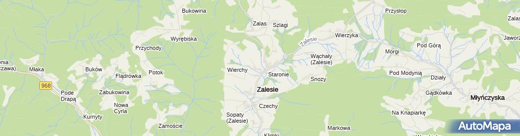 Zdjęcie satelitarne Dariusz Ranosz Firma Darek