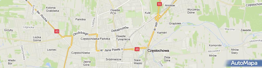 Zdjęcie satelitarne darsoft.pl