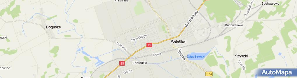 Zdjęcie satelitarne Dav.It Consulting Dawid Mojsiuszko