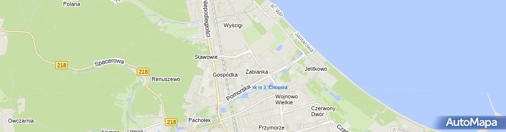 Zdjęcie satelitarne Dawent Daniel Pawłowski