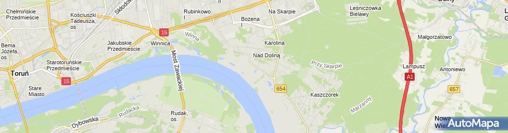 Zdjęcie satelitarne Deco-Art Jerzy Rzepkowski