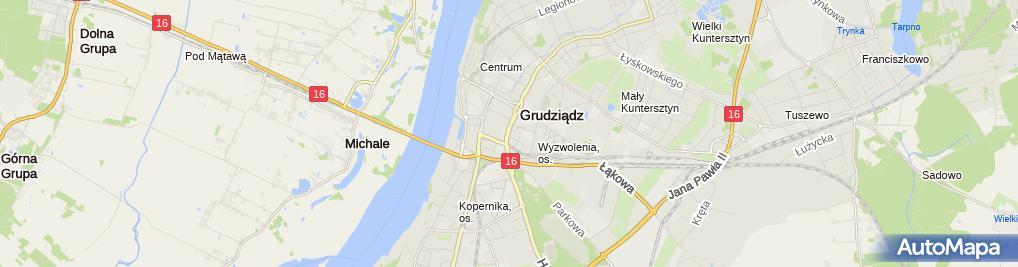 Zdjęcie satelitarne Decorini Sylwia Piłat Jerzy Piłat