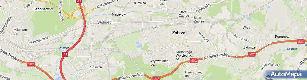 Zdjęcie satelitarne Denikomp Michał Kohrs