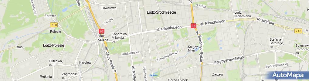 Zdjęcie satelitarne DIVI Tex P H U Robert Ciąpała Witold Perzyna